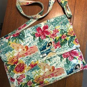 Nicole Miller Hawaiian 🌺 Gal canvas bag